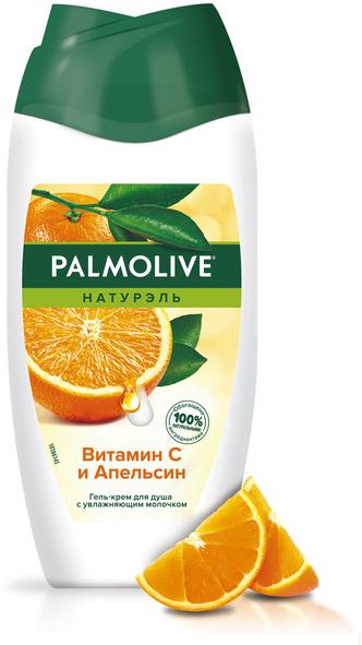 """Гель-крем для душа """"Натурэль. Витамин C и Апельсин"""" - Palmolive"""