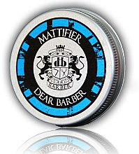 Духи, Парфюмерия, косметика Матовая паста для волос - Dear Barber Mattifier Hair Paste