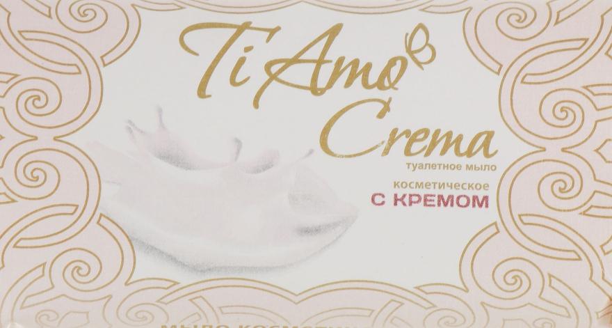 Туалетное мыло с кремом - Мыловаренные традиции Ti Amo Crema