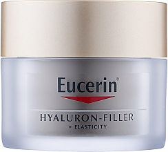 Духи, Парфюмерия, косметика Антивозрастной ночной крем для сухой кожи лица - Eucerin Anti-Age Elasticity+Filler Night Cream