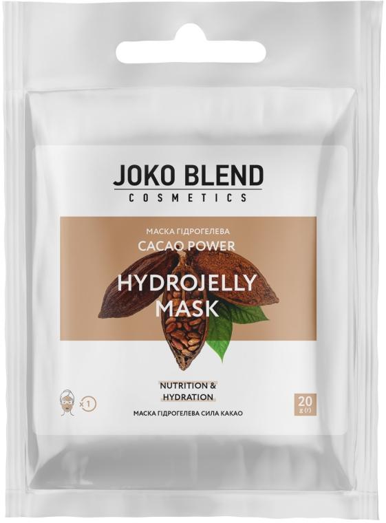 Маска гидрогелевая для лица - Joko Blend Cacao Power Hydrojelly Mask