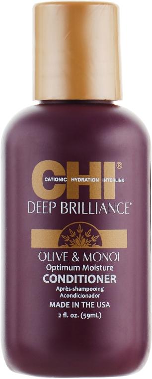 Кондиционер для поврежденных волос - CHI Deep Brilliance Optimum Moisture Conditioner