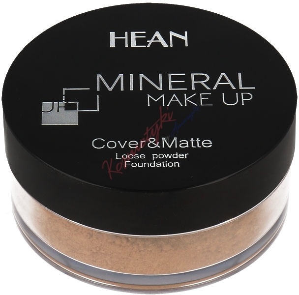 Пудра для лица, минеральная - Hean Mineral Make Up Cover&Matte Loose Mineral Powder
