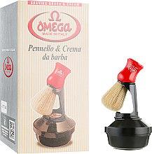 Парфумерія, косметика Набір для гоління, 46065 - Omega (cr/150ml + shaving/brush)
