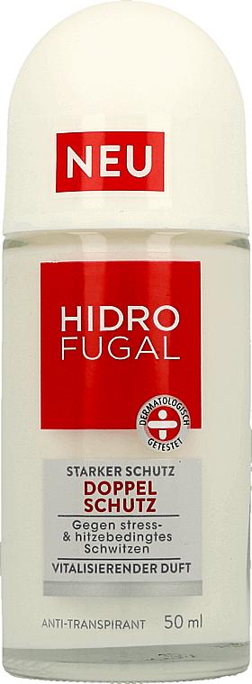 "Антиперспирант шариковый ""Двойная защита"" - Hidrofugal Double Protection Roll-on"