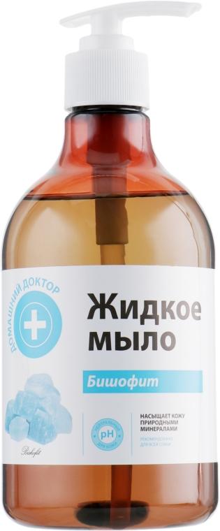 Жидкое мыло Бишофит - Домашний Доктор