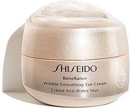 Духи, Парфюмерия, косметика Крем для глаз - Shiseido Benefiance Wrinkle Smoothing Eye Cream (тестер)