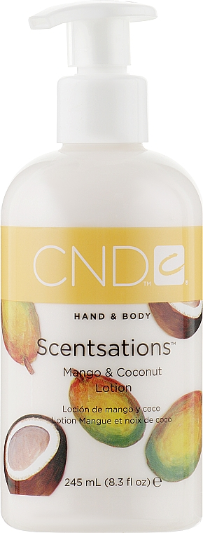 Лосьон для рук и тела - CND Scentsations Mango & Coconut Lotion