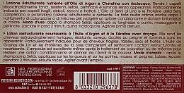 Поживний відновлюючий лосьйон з Аргановою олією та Кератином - Echosline Seliar  — фото N3