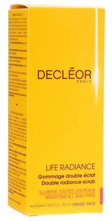 Гоммаж двойное сияние - Decleor Life Radiance Double Radiance Scrub