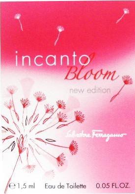 Salvatore Ferragamo Incanto Bloom New Edition - Туалетная вода (пробник)