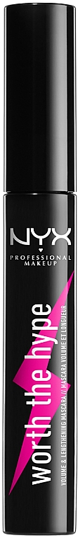 Тушь для ресниц - NYX Professional Makeup Professional Worth the Hype Volumizing & Lengthening Mascara