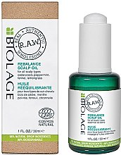 Духи, Парфюмерия, косметика Масло Ребаланс для кожи головы - Biolage R.A.W. Scalp Care Rebalance Scalp Oil