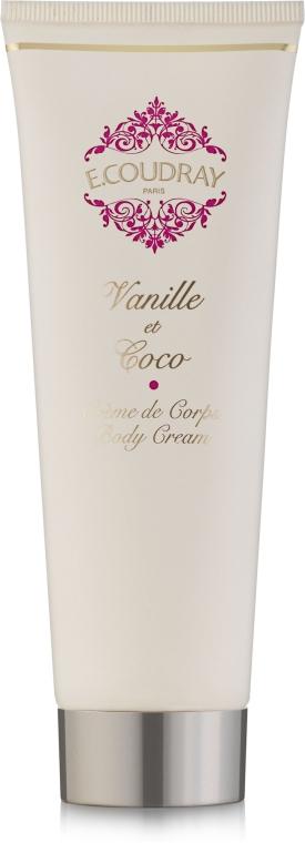 E. Coudray Vanille Et Coco - Крем для тела