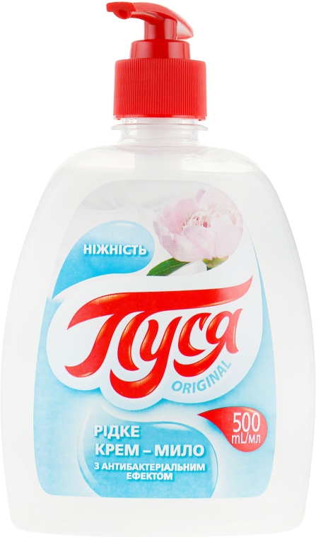 """Жидкое крем-мыло антибактериальное """"Fresh. Нежность"""" - Пуся"""