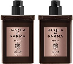 Парфумерія, косметика Acqua Di Parma Colonia Sandalo Concentree - Набір (edc/refill/2x30ml)