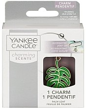 Духи, Парфюмерия, косметика Декоративная подвеска для автомобиля - Yankee Candle Charming Scents Palm Leaf Charms