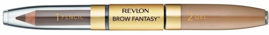 Карандаш и гель для бровей - Revlon Brow Fantasy