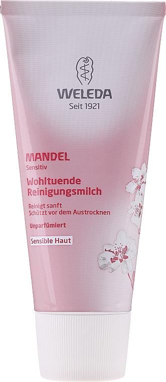 Миндальное очищающее молочко - Weleda Mandel Reinigungmilch