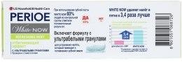 Зубная паста с ультрабелыми гранулами - LG Household & Health Perioe White Now Refreshing Mint — фото N3