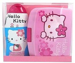 Духи, Парфюмерия, косметика Набор - Disney Hello Kitty (shm/bath/gel 300ml + lunch box)