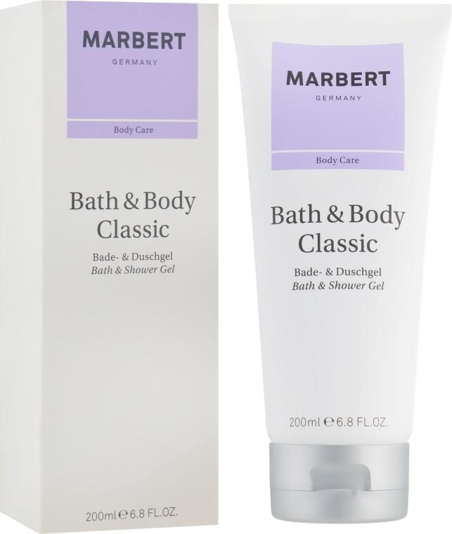 Гель для душа - Marbert Bath & Body Classic Bath & Shower Gel