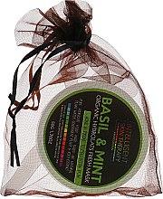 """Духи, Парфюмерия, косметика Органическая гидротальная маска для лица """"Basil&Mint"""" - Beauty Face Organic Hydrolats Fresh Mask"""