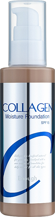 Тональный крем SPF 15 - Enough Collagen Moisture Foundation
