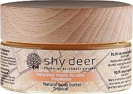 Духи, Парфюмерия, косметика Масло для тела - Shy Deer Natural Body Butter