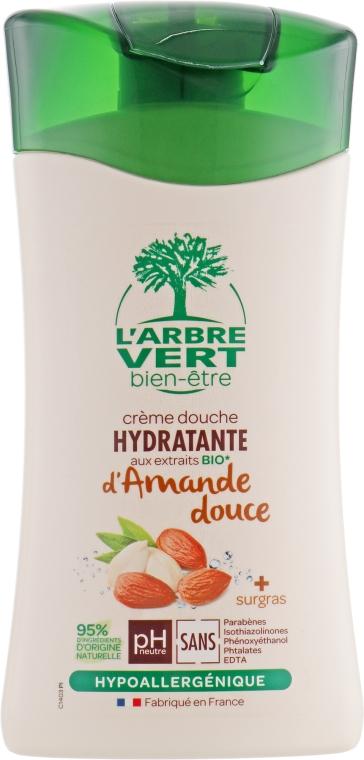 """Крем-гель для душа """"Сладкий миндаль"""" - L'Arbre Vert Cream Shower Gel"""