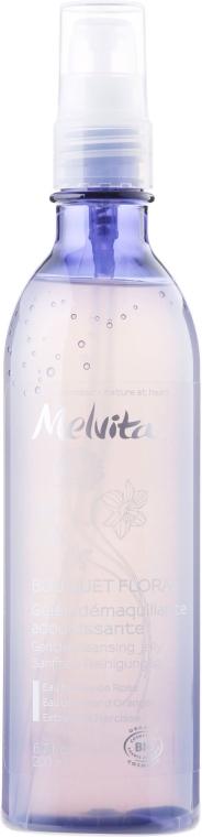Очищающее желе для снятия макияжа - Melvita Bouquet Floral Cleansing Jelly