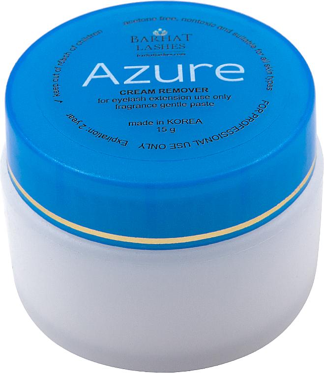 Ремувер для снятия искусственных ресниц - Barhat Lashes Azure Cream Remover