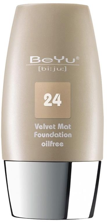 Тональный крем с матирующим эффектом - BeYu Velvet Mat Foundation