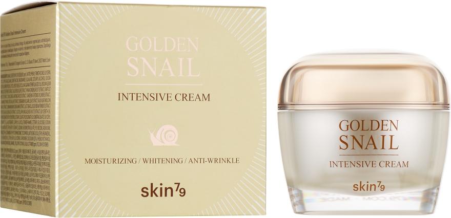 Крем для лица с улиточным муцином и золотом - Skin79 Golden Snail Intensive Cream