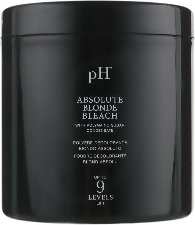 Пудра осветляющая безаммиачная до 9 тонов - pH Laboratories Absolute Blonde Bleach