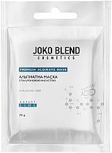 Парфумерія, косметика Альгінатна маска з гіалуроновою кислотою - Joko Blend Premium Alginate Mask