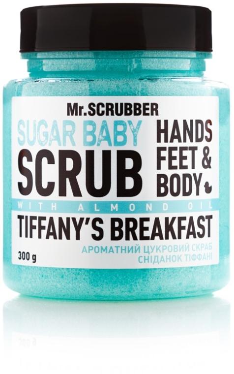 "Сахарный скраб для тела ""Tiffany's Breakfast"" - Mr.Scrubber Shugar Baby Hands Feet & Body Scrub"