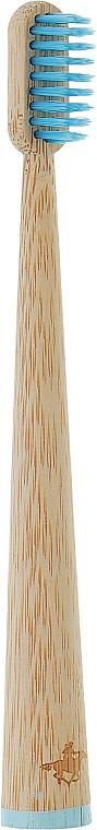 Детская бамбуковая зубная щетка - Viktoriz Premium Boys