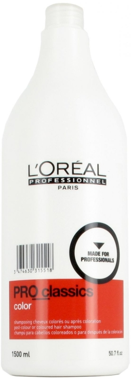 Шампунь для окрашенных волос - L'oreal Professionnel Shampooing Pro Classics Cheveux Colores