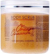 "Духи, Парфюмерия, косметика Скраб для тела ""Апельсин и корица"" - Hristina Cosmetics Sezmar Professional Body Scrub Orange Cinnamon"