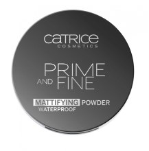 Духи, Парфюмерия, косметика Компактная матирующая влагостойкая пудра - Catrice Prime And Fine Mattifying Powder