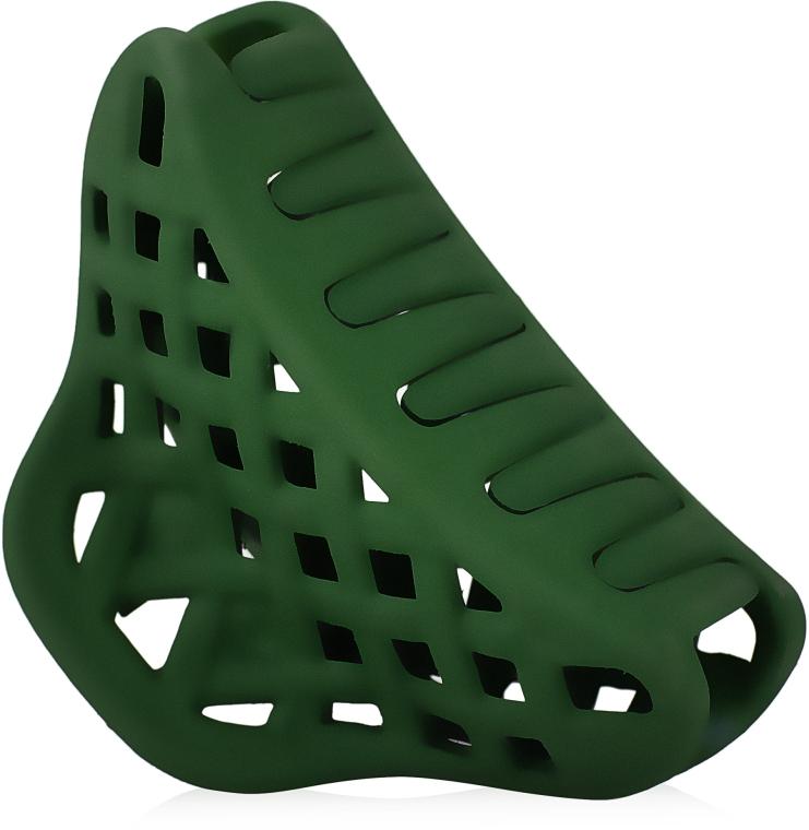 """Крабик для волос """"Плетеный мини"""", d-897, зеленый - Dini Matte Style"""