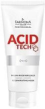 Духи, Парфюмерия, косметика Регенерирующая маска - Farmona Professional Acid Tech Regenerating Mask