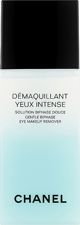Жидкость для снятия макияжа с глаз двухфазная - Chanel Precision Demaquillant Yeux Intense