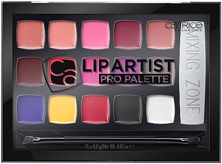 Палетка помад для губ - Catrice Lip Artist Pro Palette