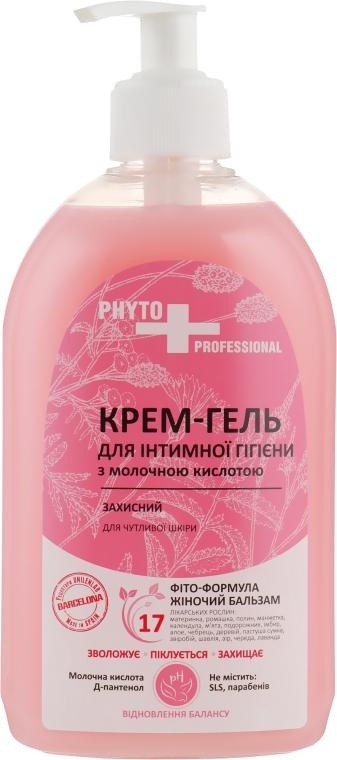Крем-гель для интимной гигиены защитный для чувствительной кожи с молочной кислотой - FCIQ Косметика с интеллектом