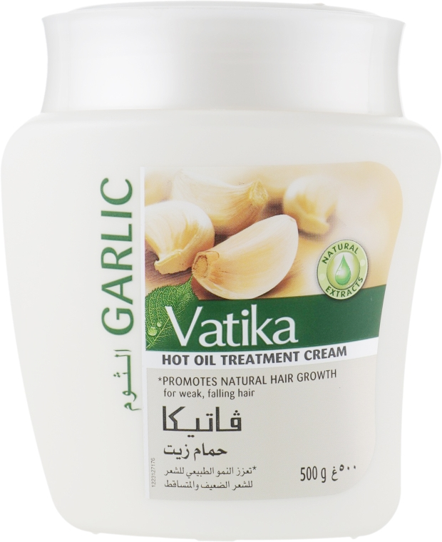 Маска для волос с экстрактом чеснока - Dabur Vatika Garlic Hot Oil Treatment Cream