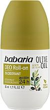 "Парфумерія, косметика Дезодорант для тіла ""Олива"" - Babaria Olive Oil Roll On Deodorant"