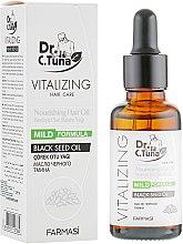 Духи, Парфюмерия, косметика Масло для волос с черным тмином - Farmasi Dr. Tuna Black Seed Noirishing Hair Oil