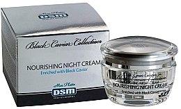 Духи, Парфюмерия, косметика Ночной питательный крем обогащенный черной икрой - Mon Platin DSM Black Caviar Nourishing Night Cream